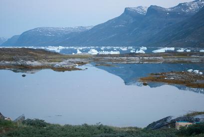 Billede af Godthåbsfjorden