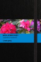 screenshot af Moleskine app forside