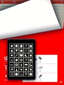 Moleskine app - screenshot af ikoner