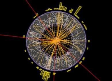 Billede fra CERN omkring Higgs partikel