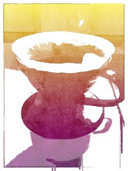 Popsicolor - kaffetragt