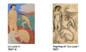 Screenshot Matisse app - Le Luxe II