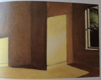 Edward Hopper empty room